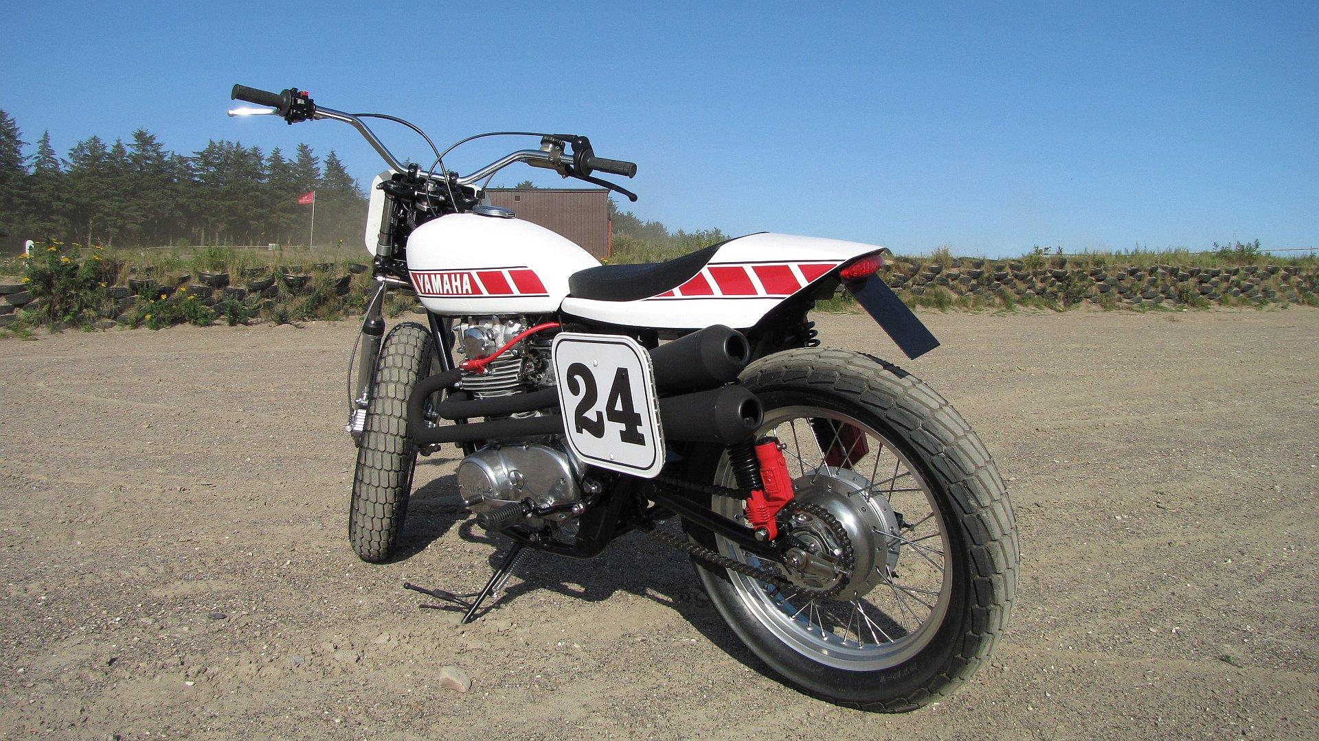 Nasty Flat Track Yamaha