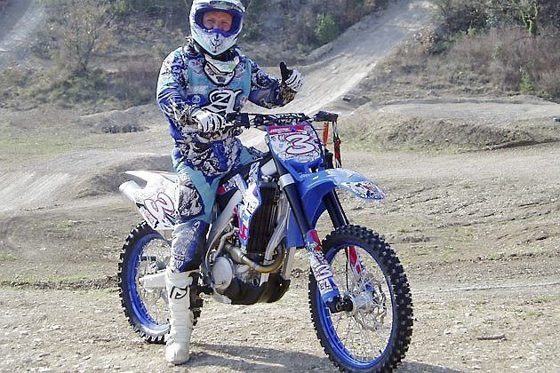 En garvet udfordrer i motocross danmarksmesterskabet 2011