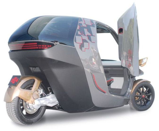 Electric 3 Wheeler