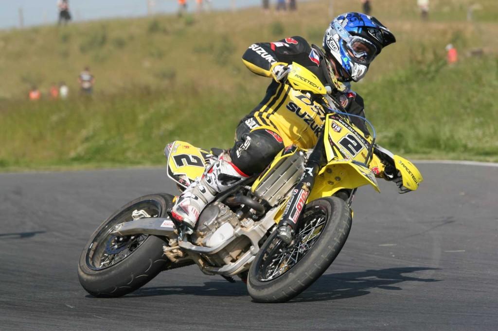 CZE Supermoto Rider P. Vorlicek
