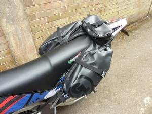 Saddlebags for your Supermoto Bike