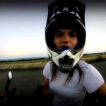 Sarah Lezito French Stuntrider