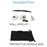Roll offs kit and Google bag