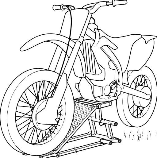 Motorcykel Vask
