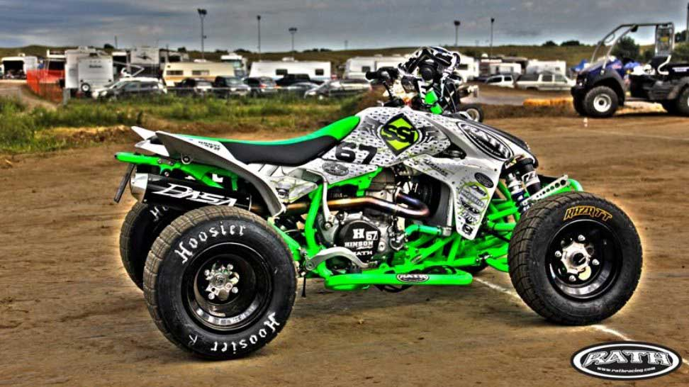 Rath Racing Green Monster Quad