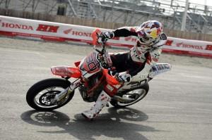 Ivan Lazzarini ITA (HM Honda Racing) Italian Supermoto Champion 2011