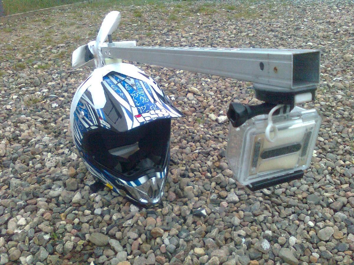 Serious GoPro Helmet Mount