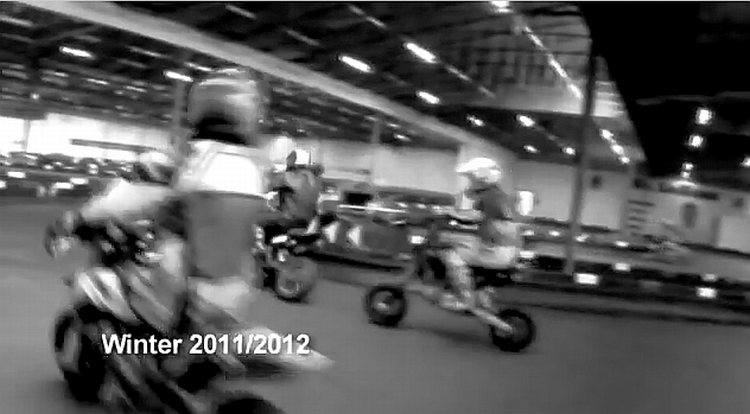 Minimotard i Svenstrup Gokart World