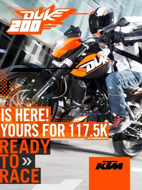 DUKE 200 KTM