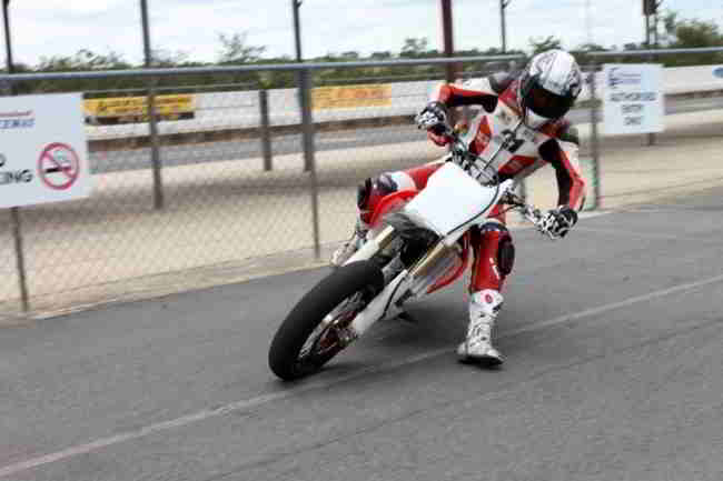 Troy Bayliss Supermoto