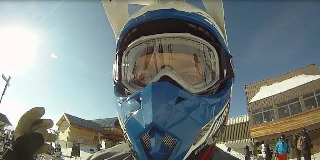 Mikkel Caprani og Familie - Ski og MX 2012