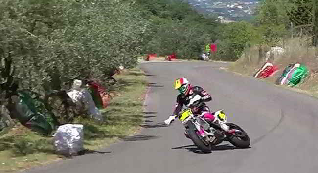 Supermotard Hill Climbing