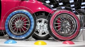 Bridgestone dæk med printet profil