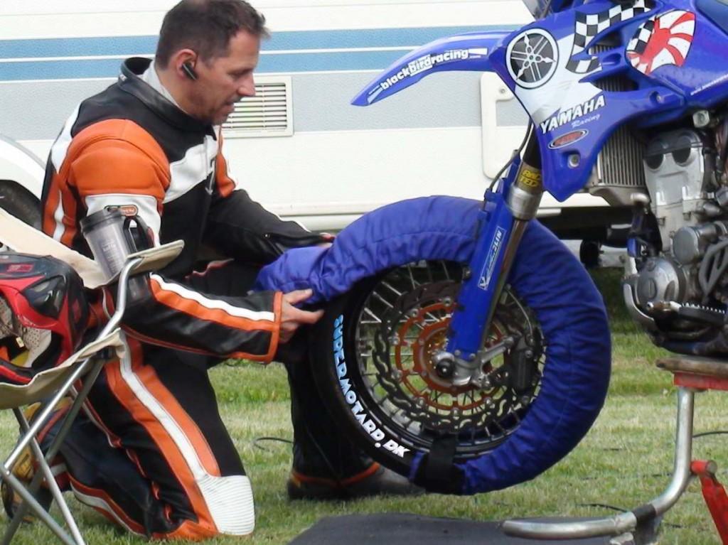 Print på motorcykel dæk