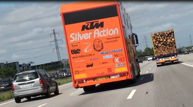 KTM Silver Action MX