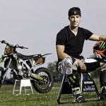 Andrea Dovizioso Yamaha Motocross