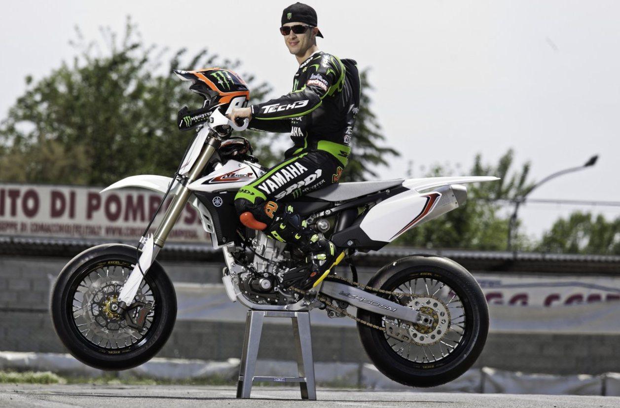 Andrea Dovizioso Yamaha YZF 450 Supermotard