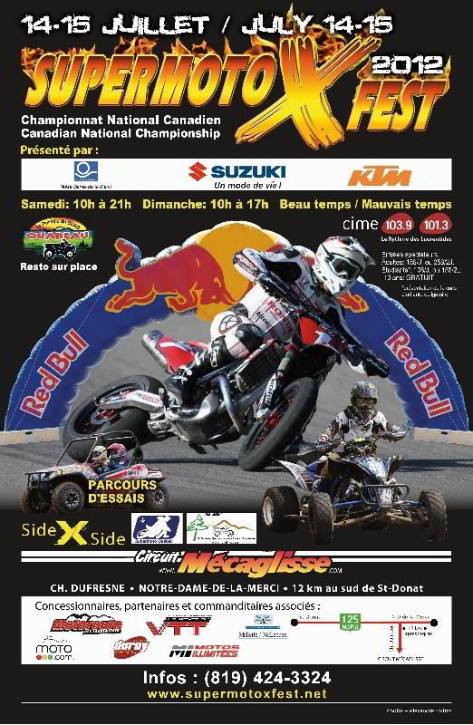 Supermoto X FEST Canada 2012