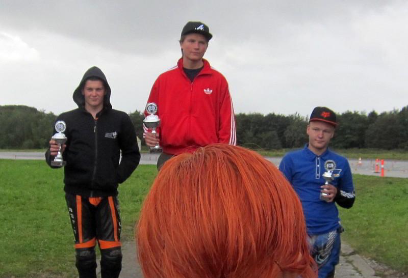2012 Randers SM Finale DM B på dagen. 1. Anders Hjørringgaard, 2 Rasmus Nielsen, 3 Mikkel Horne