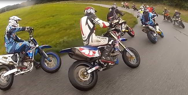 Supermoto Video from 3 different Riders