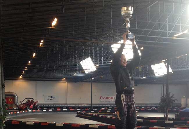 Amerikansk heat vinder i Minimotard: Simon Winther