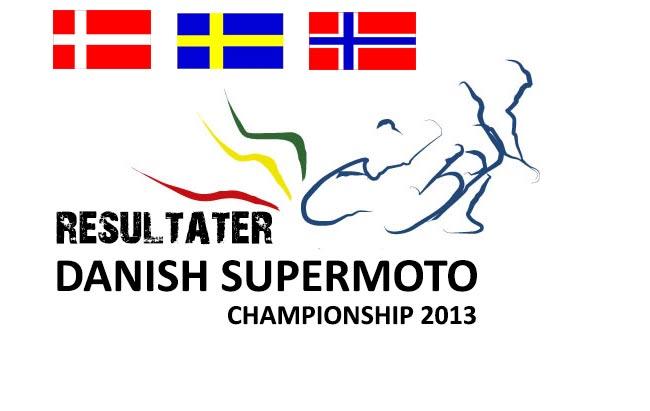 2013 Supermotard Danmarksmesterskab Resultater