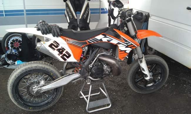 Metteyt Superbiker 2013 KTM 380