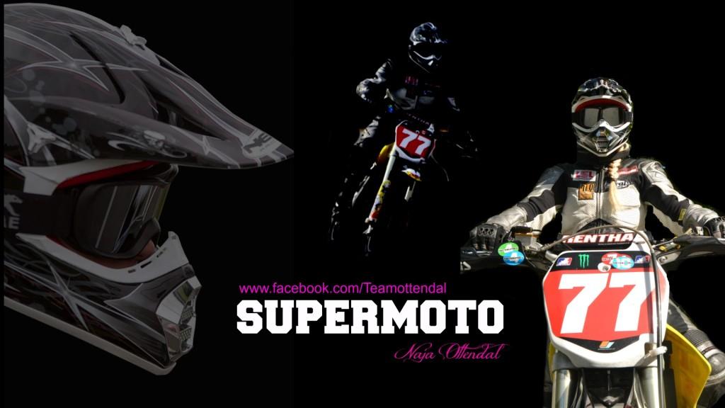 Danish Supermotard Rider Naja Borre Ottendal