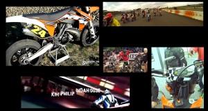 Supermotard Racing Motorcykel på 2014 Sportslørdag