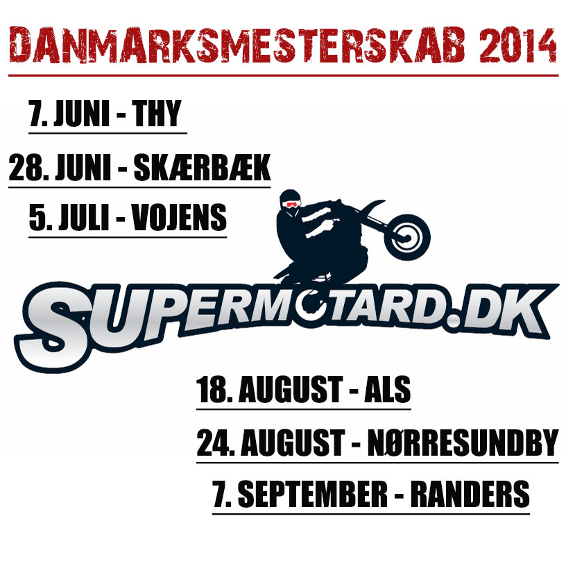 Supermoto Danmarksmesterskab 2014