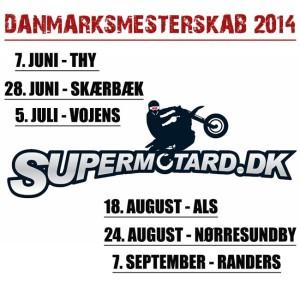 Supermotard Danmarksmesterskab 2014