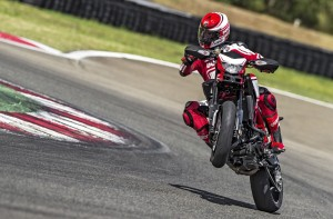 2015 Ducati Hypermotard SP Wheelie