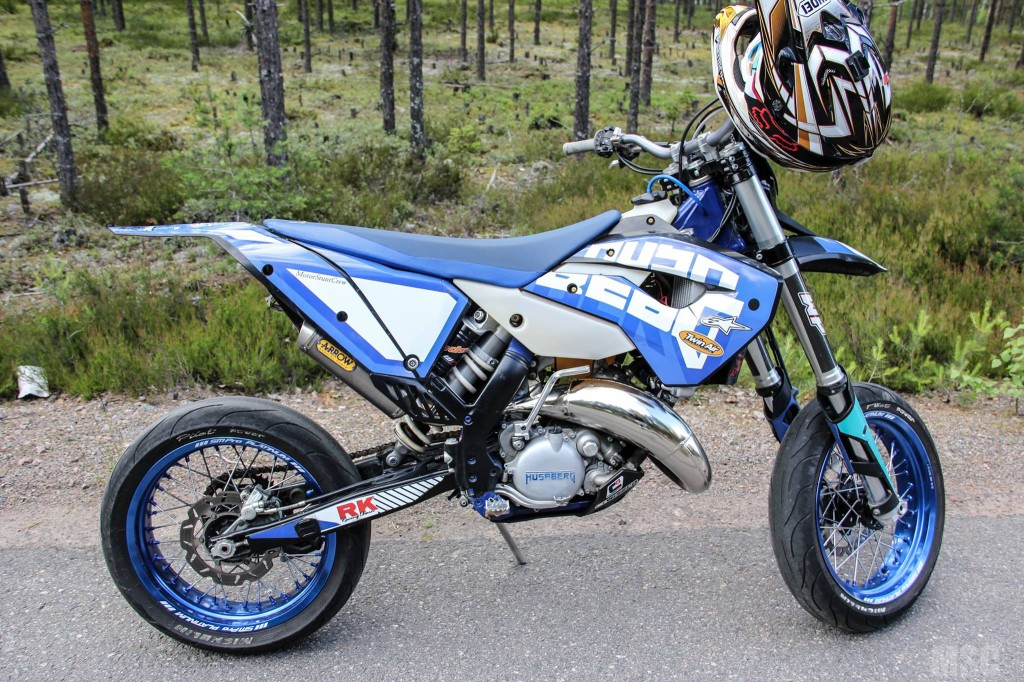 Husaberg Supermotard Stunt Rider