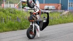 Supermotard Stunt Kørere