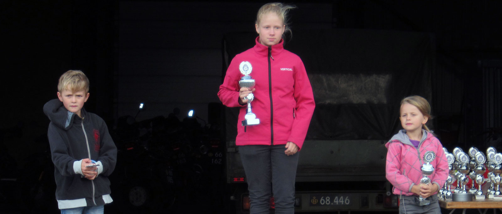 Supermotard Danmarksmesterskab SM Mini-Rookie-Open Nørresundby August 2014