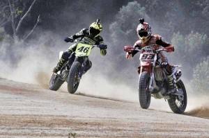 MotoGP Valentino Rossi #46 & Marc Márquez #93