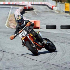 Simon #35 Winther Supermotard Danmark