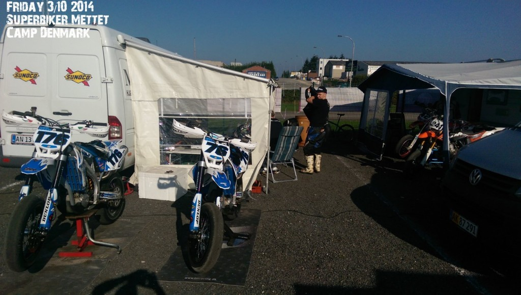 Friday @ Mettet Superbiker 2014 in The Danish Camp