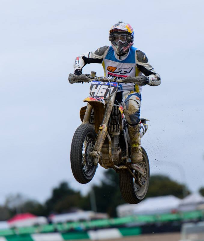Photo: Laetitia Casteels Romain Fèbvre France Winner of Superbiker 2014 Mettet Belgium