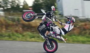 Supermoto Fun Video