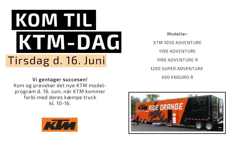 KTM Dag Aagesen Motorcykler 16 Juni 2015
