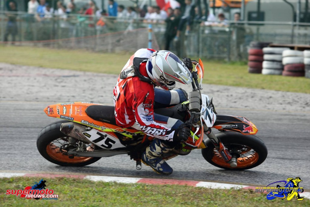 Supermotard Simon Winther SMoN 2015