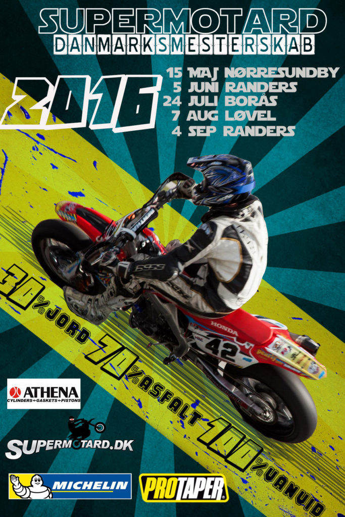 2016 Supermotard DM Kalender