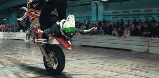 Elmotorcykel Stunt