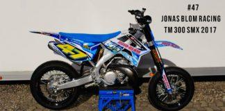 TM 300 SMX 2Takts Racer til Jonas Blom Racing