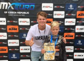 Mads Fredsøe Sørensen Europamester i Motocross EMX65 2017