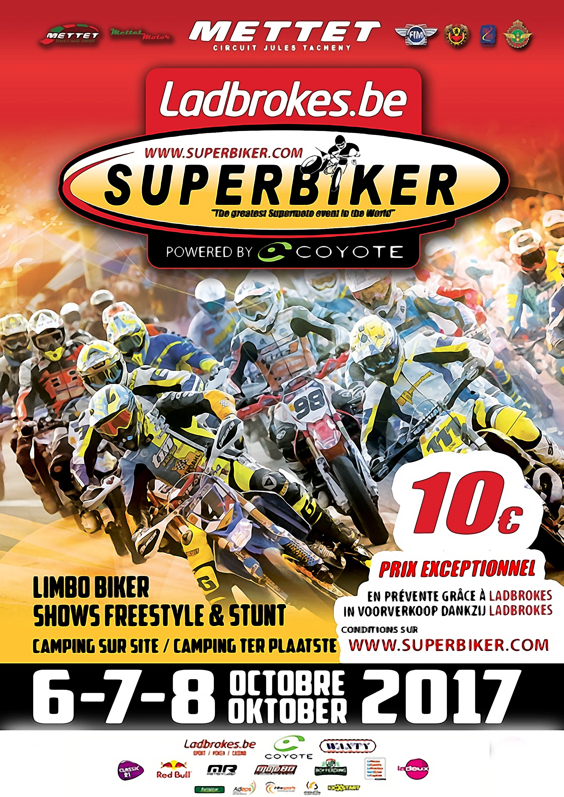 The greatest Supermoto event in the World presented by Supermotard.dk