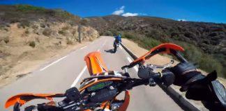 Korsika rundt på Supermotard motorcykel
