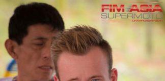 Simon Vilhelmsen FIM Asia Supermoto Championship 2017
