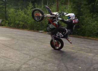 Nye Friske Supermotard Stunts
